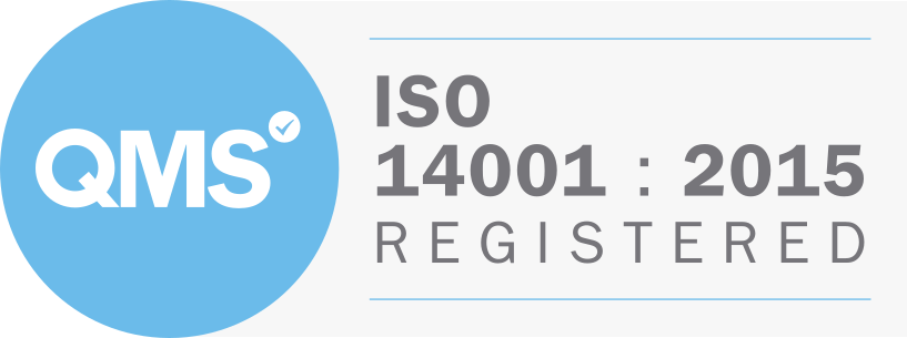 QMS ISO14001:2015 Registered