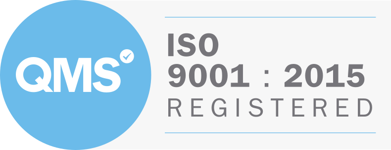 QMS ISO9001:2015 Registered