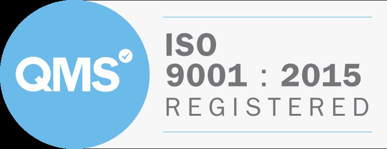 QMS ISO9001:2015 Registered
