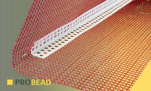 ProBead noseless mesh angle bead