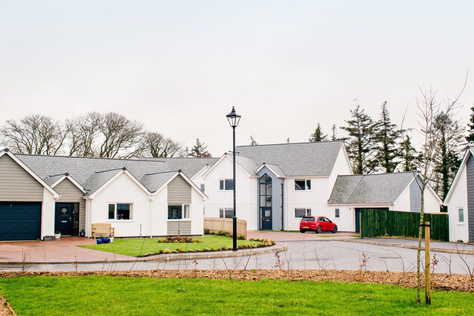 Rendered Cladding For Timber Frame Houses - UK manufacturer