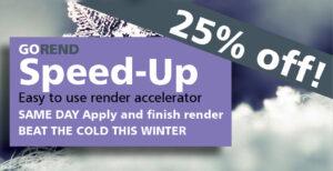 winter render