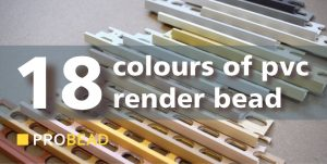 coloured render beads are best