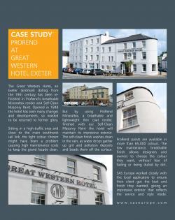 Case study Great Western ak